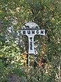 -2018-10-20 Parish marker sign for the parish of Trunch, Norfolk.JPG