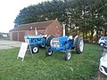 -2018-10-20 Vintage Ford tractors, Trimingham Trosh 2018.JPG