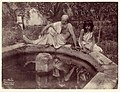 -Elderly Man and Young Boy at Garden Fountain, Sicily, Italy- MET DP114597.jpg