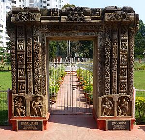 Patna Museum - Image: 003 Torana, 8c Udayagiri (9221507404)