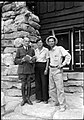 00772 Grand Canyon Superintendent Tillotson, Dr. Clover, and Norm Nevills 1938 (4739747204).jpg