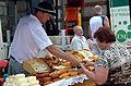 00965 Beskider Käse aus Schafsmilch 2013; Northern Subcarpathians.JPG