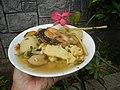 0099Nilagang repolyo, petsay Tagalog, kamote, patatas, kamatis at Pritong Dalag (Bulig) sa tanglad 11.jpg