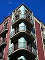 040 Cases Antoni Par, c. Gran de Gràcia 262-264 - c. Nil Fabra 1 (Barcelona), cantonada.jpg