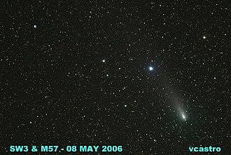 73P/Schwassmann–Wachmann - Image: 06 0508 sw 3+m 57 martinez fal vcastro img 0032