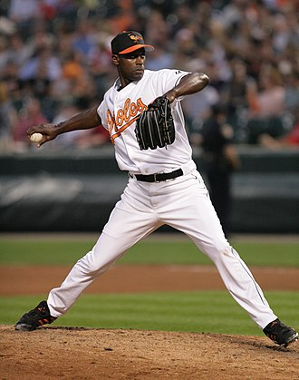 LaTroy Hawkins - Hawkins during his tenure with the Baltimore Orioles in 2006
