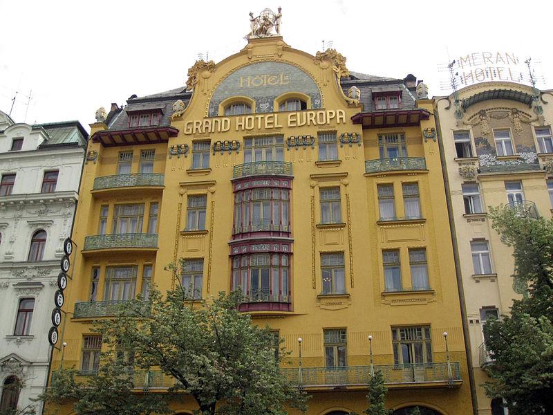 File:096 Grand Hotel Evropa, a la plaça de Venceslau.jpg