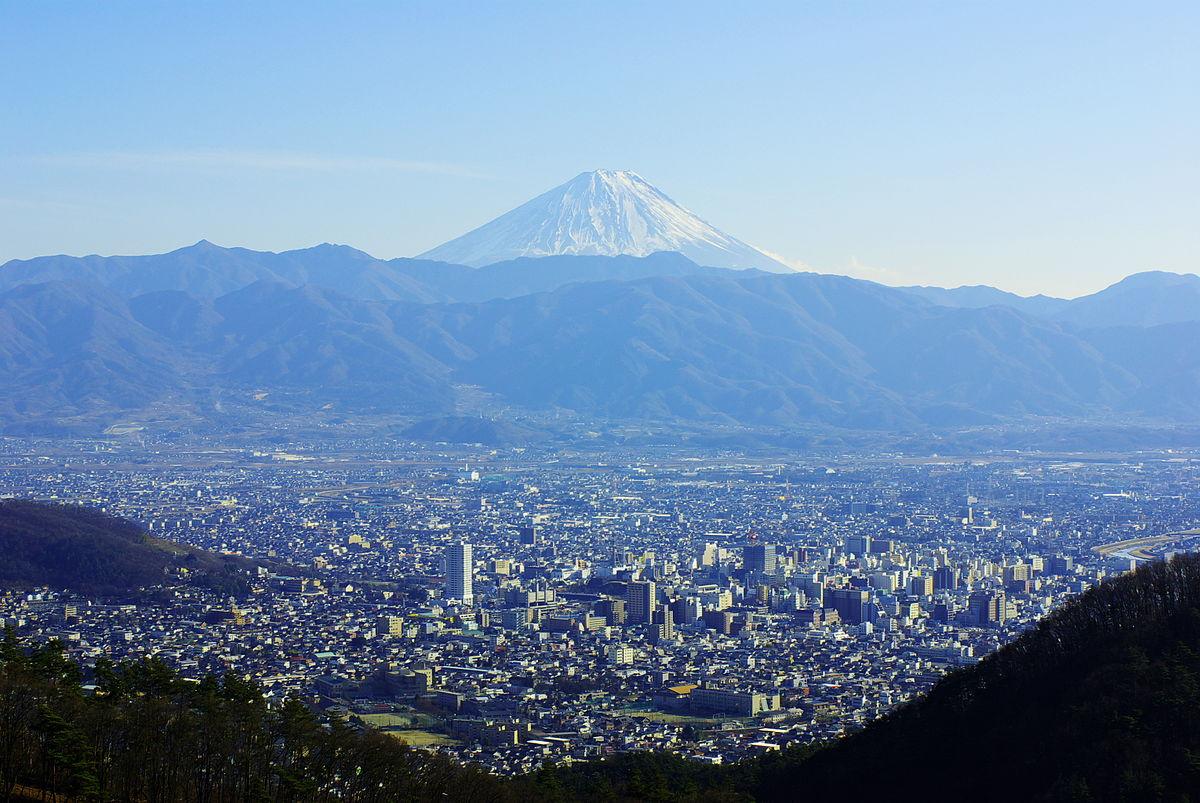 Yamanashi Prefecture Travel Guide At Wikivoyage