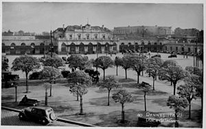 Gare de Rennes - Rennes Station, early 20th Century