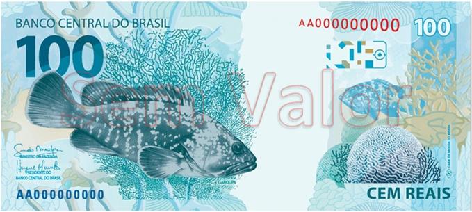 100 reais 2012 verso