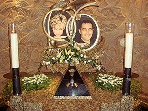 Dodi Fayed - Memorial to Diana and Dodi in Harrods.