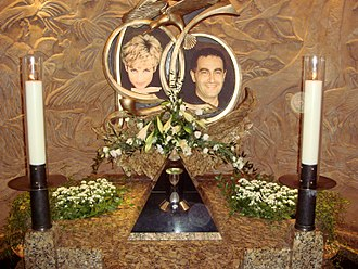 Dodi Fayed - Memorial to Diana, Princess of Wales and Dodi Fayed in Harrods.