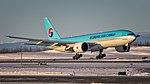 12042016 Korean Air Cargo HL8005 B772F PANC FLARE NASEDIT (27908733508).jpg