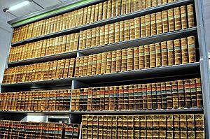 Oekonomische Encyklopädie - A complete edition of the Oekonomische Encyklopädie at the Oberlausitzische Bibliothek der Wissenschaften in Görlitz
