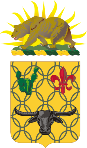 149th Armor Regiment - Coat of arms