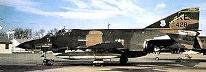 """153d Air Refueling Squadron - 153d Tactical Reconnaissance Squadron RF-4C 66-0428 Tail Code: """"KE"""""""
