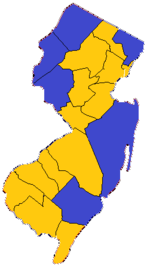 1844 New Jersey gubernatorial election Results (Actual).png