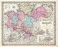 1855 Colton Map of Hanover and Holstein, Germany - Geographicus - Germany1-colton-1855.jpg