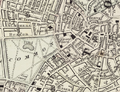 1860 TremontRow map Boston by S Augustus Mitchell BPL 10040.png