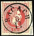 1867 5kr Ratschach Radeče.jpg