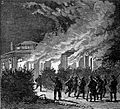 1888 Riots in Romania - Burning of houses on Prince Ghika's estate.jpg