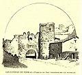 1889, España, sus monumentos y sus artes, su naturaleza e historia, Soria, San Esteban de Gormaz, Puerta de San Gregorio en la muralla, Isidro Gil.jpg