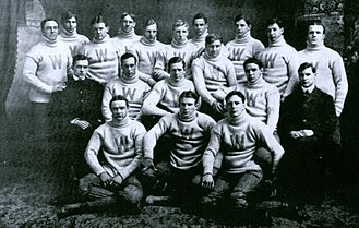 "Frank ""Buck"" O'Neill - 1901 Williams College football team captained by O'Neill"