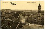 19148-Großenhain-1915-Blick von der Stadtkirche mit Flugzeug-Brück & Sohn Kunstverlag.jpg