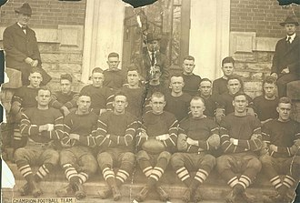 1918 Centre Colonels football team - Image: 1918Centreteam