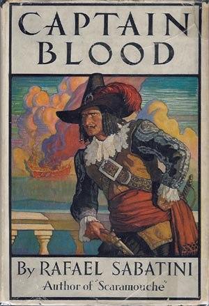 Captain Blood (novel) - 1922 dust jacket cover