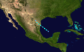 1925 Atlantic tropical storm 3 track.png