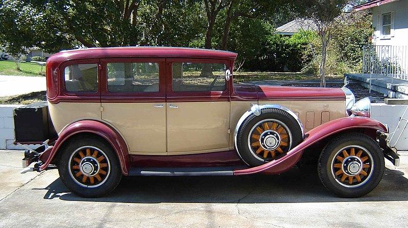 File 1931 peerless woodland 1 wikimedia commons for Woodland motors used cars