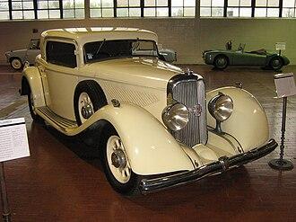 Panhard - 1933 Panhard et Levassor X74