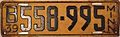1939 Minnesota license plate.JPG