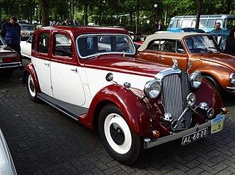 Rover 12 - 1939-built Rover 12 Saloon (P2)