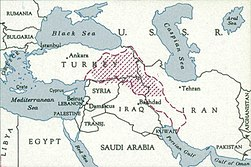 1948 Kurdistan by the CIA (inset map – boundary of the proposed Kurdish state submitted to the UN by the Kurdish Rizgari Party).jpg