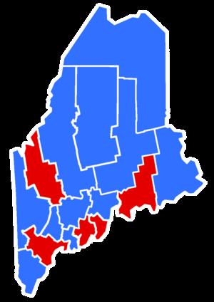 Maine gubernatorial election, 1954 - Image: 1954Maine Gubernatorial