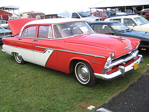 Plymouth Belvedere - 1955 Plymouth Belvedere sedan