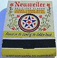 1960 - Neuweiler Brewery - Matchcover - Allentown PA.jpg