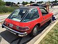 1976 AMC Pacer DL coupe in red with black at AMO 2015 meet 3of7.jpg