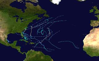 1984 Atlantic hurricane season Hurricane season in the Atlantic Ocean