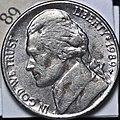 1989 US Nickel Philadelphia Mint (5652510618).jpg