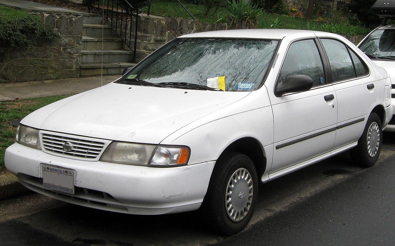 File 1995 1997 Nissan Sentra 03 21 2012 Jpg Wikimedia