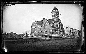 John Y. Culyer - Town Hall, Flatbush, ca. 1872-1887
