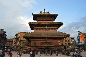 Bhaktapur Durbar Square -  Bhairava Nath Temple