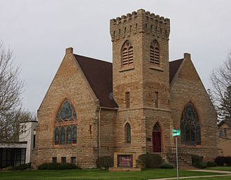 Cannon Falls, Minnesota - First Congregational Church in Cannon Falls