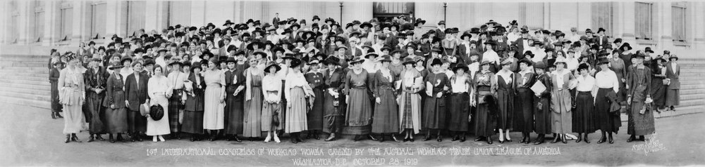 1st International Congress of Working Women called by the National Womens' Trade Union League of America, Washington, D.C., October 28, 1919 LCCN2007661733.tif
