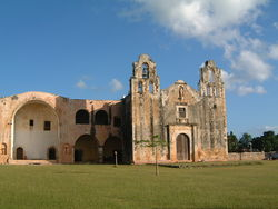 Church and Convent of San Miguel in Maní