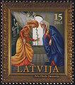 20031122 15sant Latvia Postage Stamp B.jpg