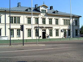 Västerås central station - Image: 20060613 vasteras central